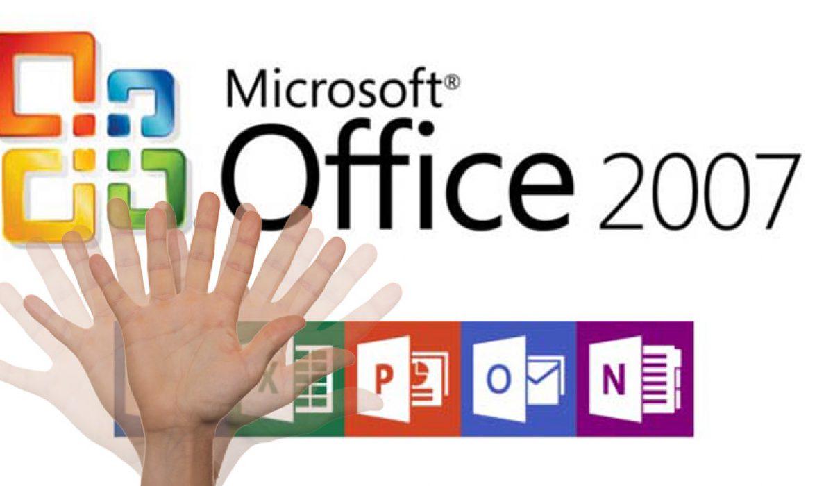 Microsoft anuncia el fin de office 2007 el próximo 10 de octubre del 2017