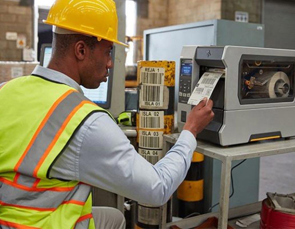 Aplicaciones de las impresoras de etiquetas industriales Zebra ZT400 Series