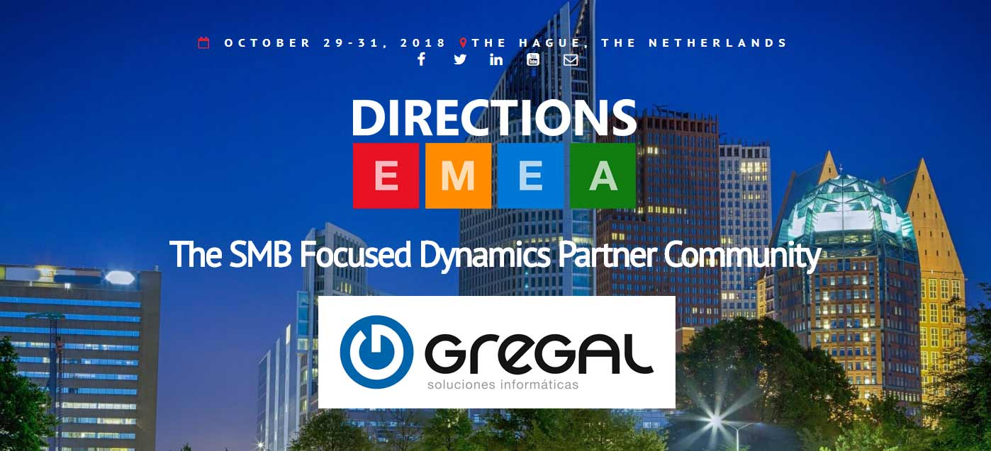 Directions EMEA 2018, una cita ineludible para Gregal