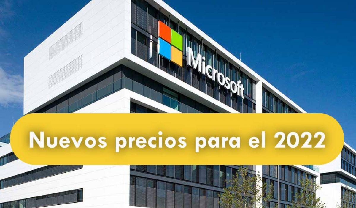 En el 2022 se incrementará el precio en Office 365 y Microsoft 365