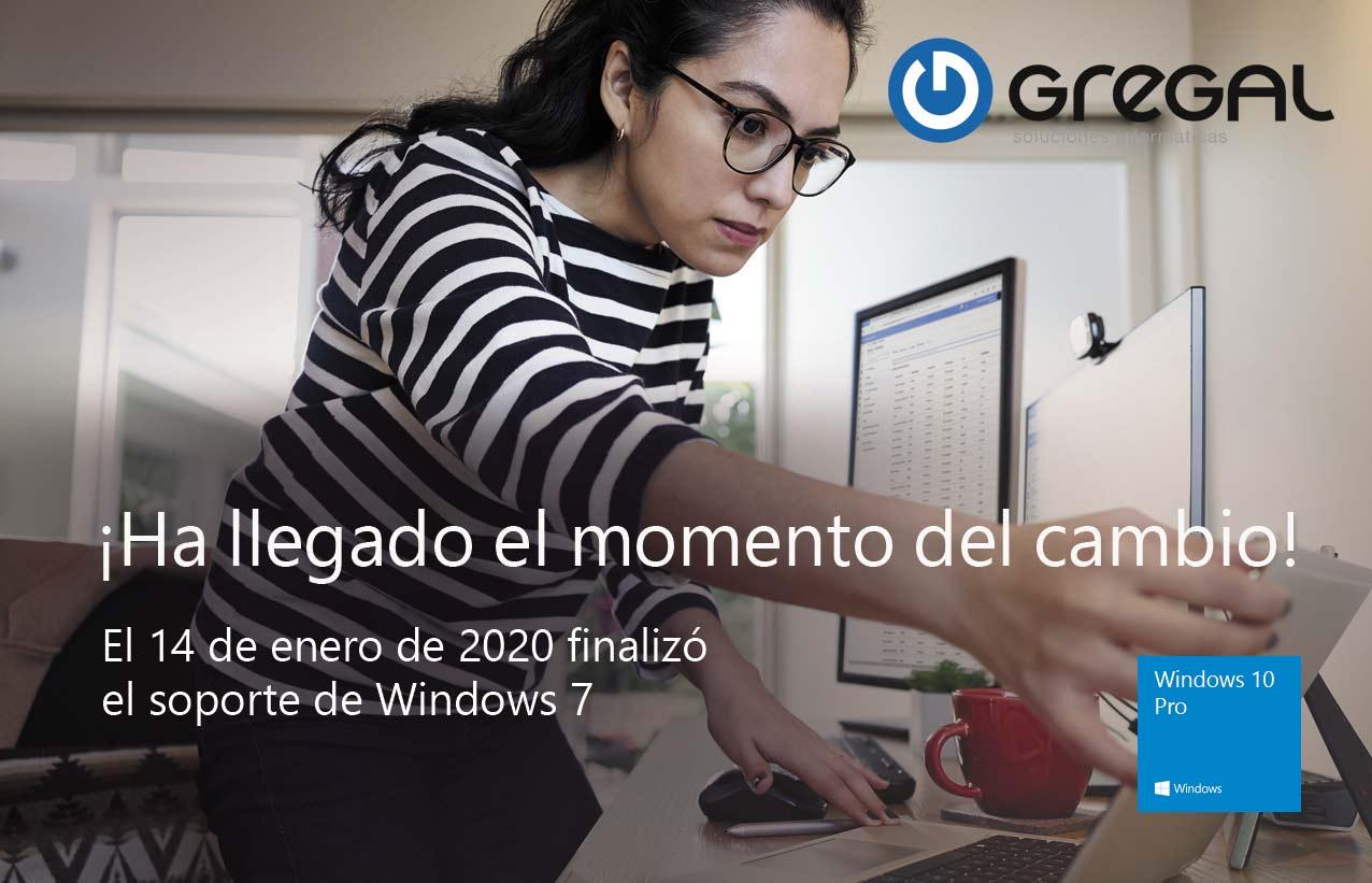 Todo sobre el fin del soporte de Windows 7