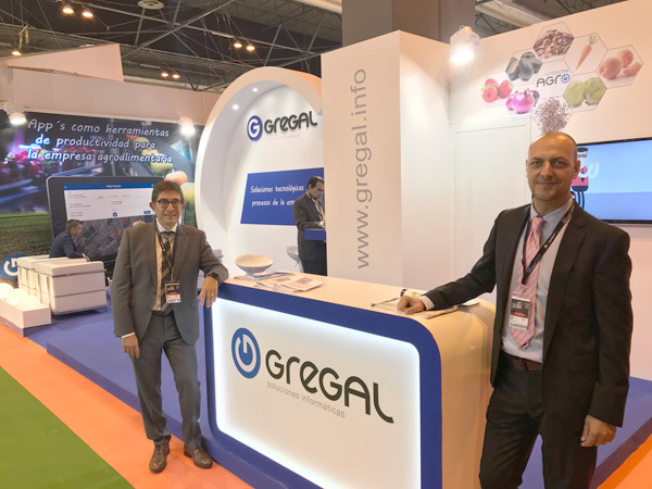 Gregal en fruit attraction 2017 - 2018