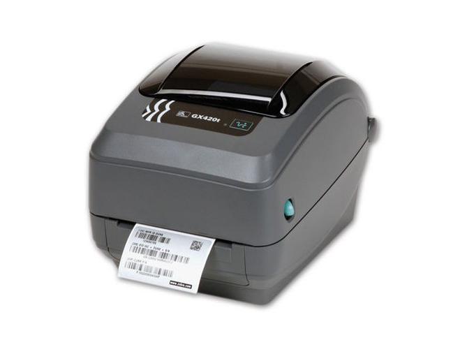 Impresora de etiquetas de sobremesa GX420 de transferencia térmica