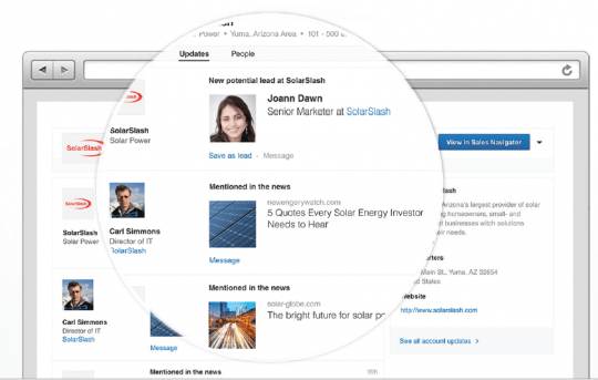 LinkedIn integra Sales Navigator al Microsoft Dynamics CRM
