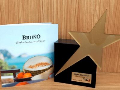 Enhorabuena a Melones Bruñó por el premio recibido en Fruit Attraction 2015