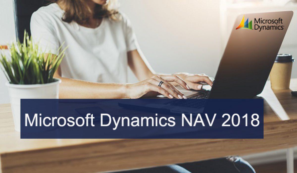 Microsoft Dynamics NAV 2018 ya está aquí.