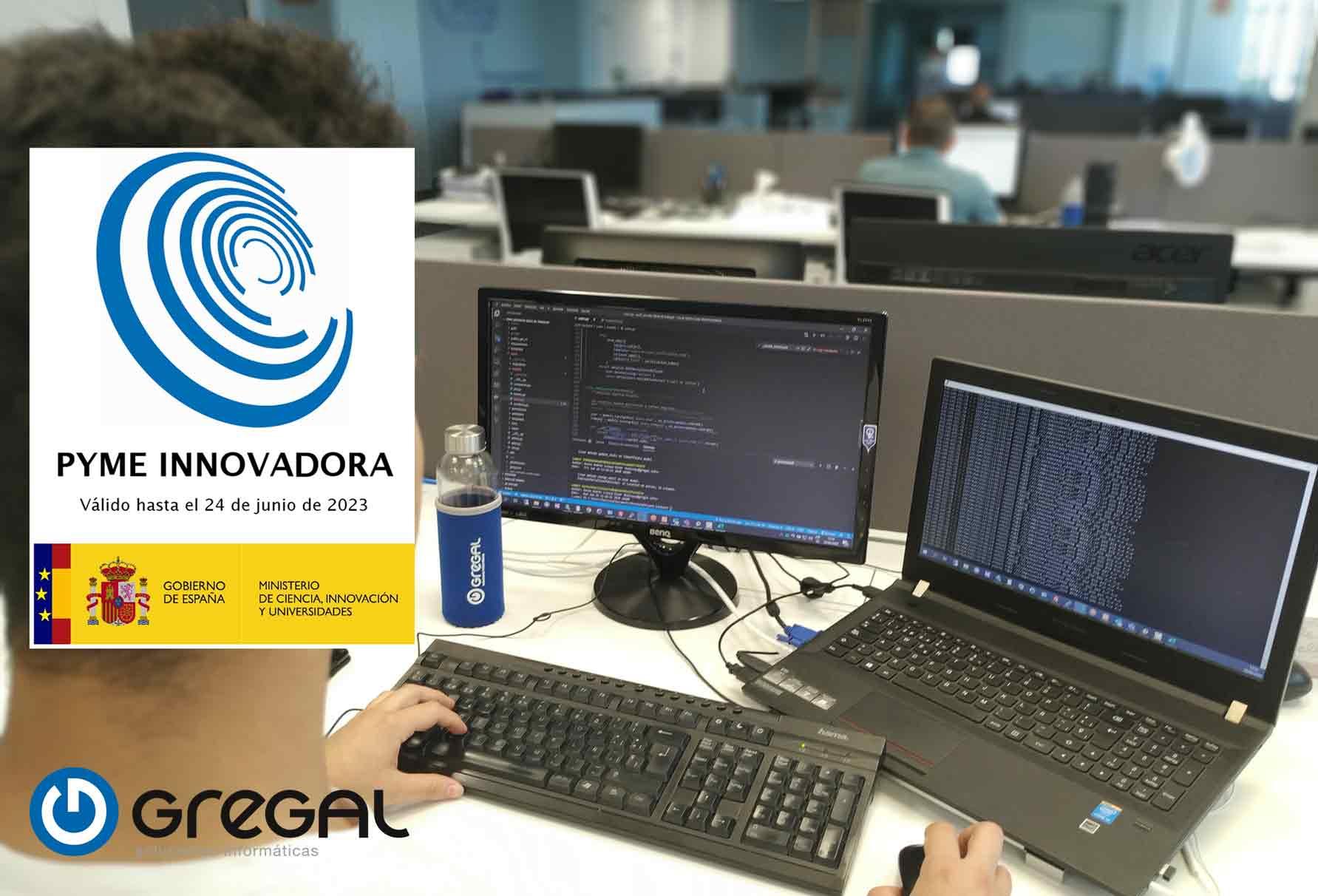 Gregal recibe el sello Pyme innovadora por su carácter innovador en el sector Agro