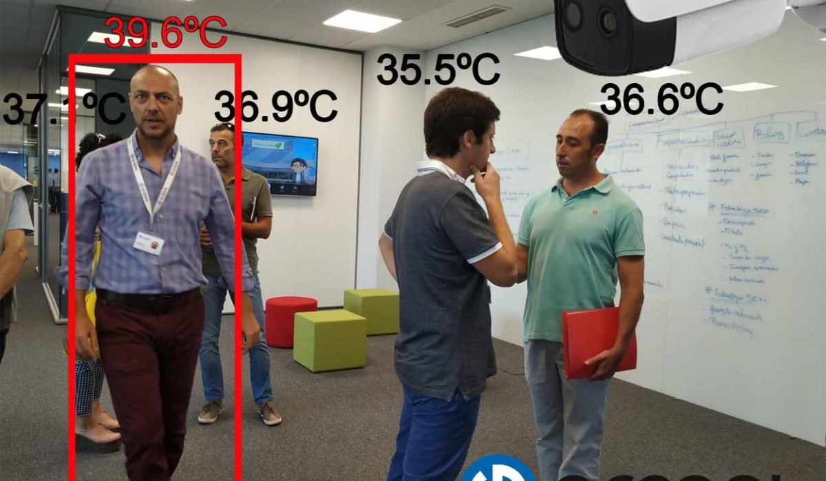 Gregal dispone de cámaras de medición de temperatura corporal para el sector Agroalimentario.